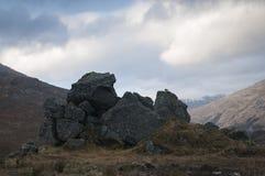 Géologie des montagnes Ecosse du nord-ouest Photo stock