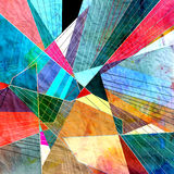 Géométrique abstrait illustration de vecteur