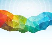 Géométrique abstrait Images stock