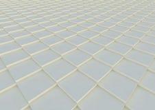 Géométrique abstrait Modèle architectural Texture des places l'illustration 3d rendent illustration stock