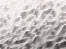 Géométrique polygonal d'abrégé sur moderne la science Photo libre de droits
