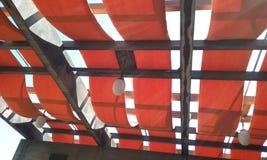 Géométrique rouge Photos libres de droits