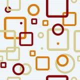 Géométrique sans joint (vecteur) Images stock