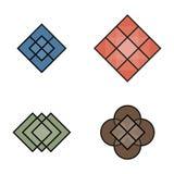 Géométrique vecteur logo de schéma Illustration Libre de Droits