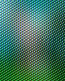 Géométrique vert-bleu Photographie stock libre de droits