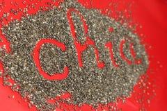 Gérmenes de Chia Fotos de archivo libres de regalías