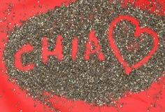 Gérmenes de Chia Imagen de archivo