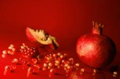 Gérmenes de la granada Fotos de archivo libres de regalías