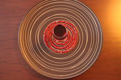 Gérmenes de la granada Imagen de archivo libre de regalías
