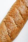 Gérmenes de sésamo en el pan francés Fotografía de archivo libre de regalías