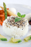 Gérmenes del arroz y de sésamo Foto de archivo