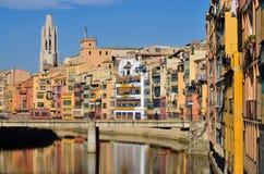 Gérone, Espagne Photos libres de droits