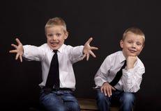 Gêmeos Imagem de Stock