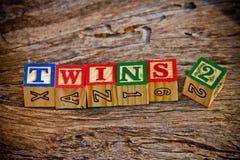Gêmeos 2 imagens de stock