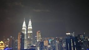 Gêmeos de Malásia imagens de stock