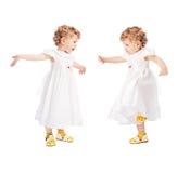 Gêmeos emocionais Fotografia de Stock Royalty Free