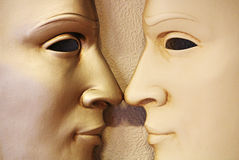 Gêmeos - máscara Venetian, Italy Foto de Stock Royalty Free