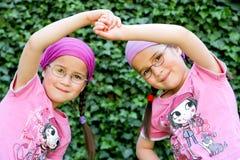Gêmeos verdadeiros Fotos de Stock Royalty Free