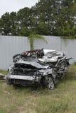 Gêne conduisant l'accident mortel et les pertes humaines photo stock