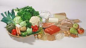 Gêneros alimentícios básicos Imagens de Stock Royalty Free