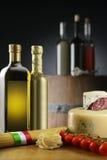 Gêneros alimentícios italianos imagens de stock royalty free