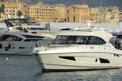Gênes, cinquante-septième édition du salon nautique international Image stock