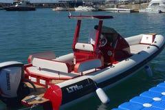 Gênes : cinquante-septième salon nautique Photographie stock libre de droits