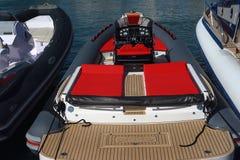 Gênes : cinquante-septième salon nautique Images libres de droits