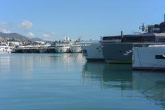 Gênes : cinquante-septième salon nautique Photos libres de droits