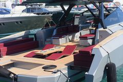 Gênes : cinquante-septième salon nautique Photos stock