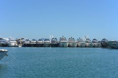 Gênes : cinquante-septième salon nautique Photo stock