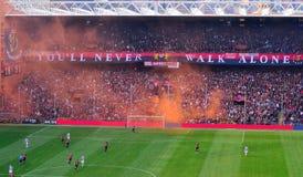Gênes-Juventus Photographie stock libre de droits