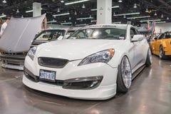 Gênese de Hyundai na exposição foto de stock royalty free