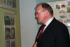 Gï ¿ ½ stelde Persson in werking, Royalty-vrije Stock Fotografie