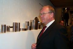 Gï ¿ ½ stelde Persson in werking Stock Fotografie
