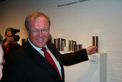 Gï ¿ ½ stelde Persson in werking Royalty-vrije Stock Afbeelding