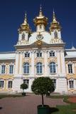 GÐ ³ аnd pałac w wierzchu ogródzie Zdjęcia Stock