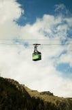Góndola de la montaña Imagen de archivo