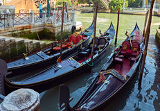 Góndola de Venecia Imagen de archivo