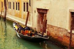 Góndola en Venecia fotos de archivo libres de regalías