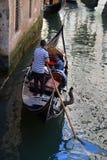 Góndola en Venecia Imagen de archivo