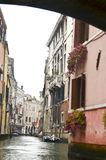 Góndola en Venecia Imagen de archivo libre de regalías