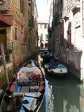 Góndola en Venecia Imágenes de archivo libres de regalías