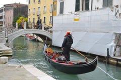Góndola en Venecia, Italia Fotografía de archivo