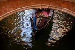 Góndola en Venezia Fotos de archivo libres de regalías