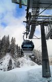 Góndola Ski Lift Imagenes de archivo