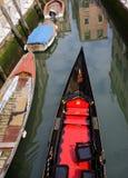 Góndola Venecia foto de archivo libre de regalías