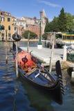 Góndola, Venecia Imágenes de archivo libres de regalías