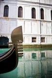 Góndola, Venecia, Italia Imágenes de archivo libres de regalías