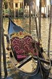 Góndola veneciana de lujo Fotografía de archivo libre de regalías